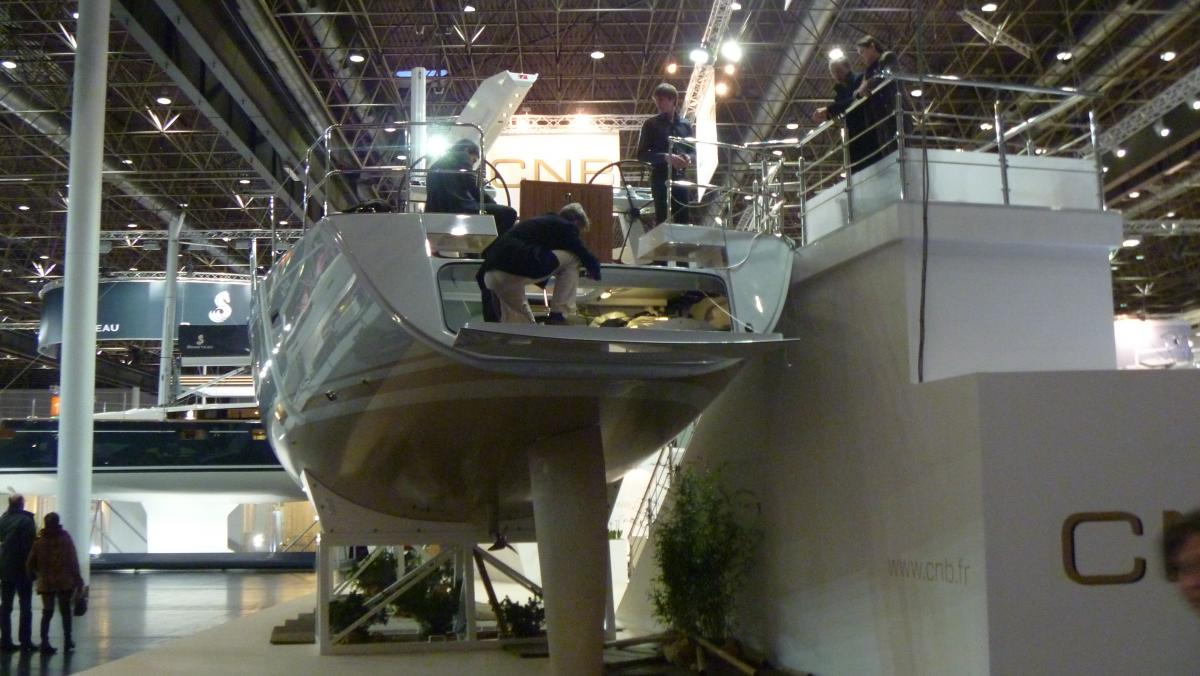 Winboat on Dusseldorf Boat Show 2013